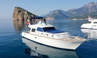 Motor Yacht Charter in Antalya, Turkey for Sightseeing, Dinner Cruise