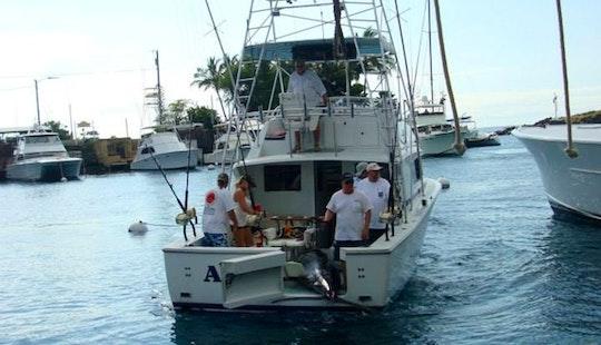 33 Sportfishing Yacht Charter In Newport