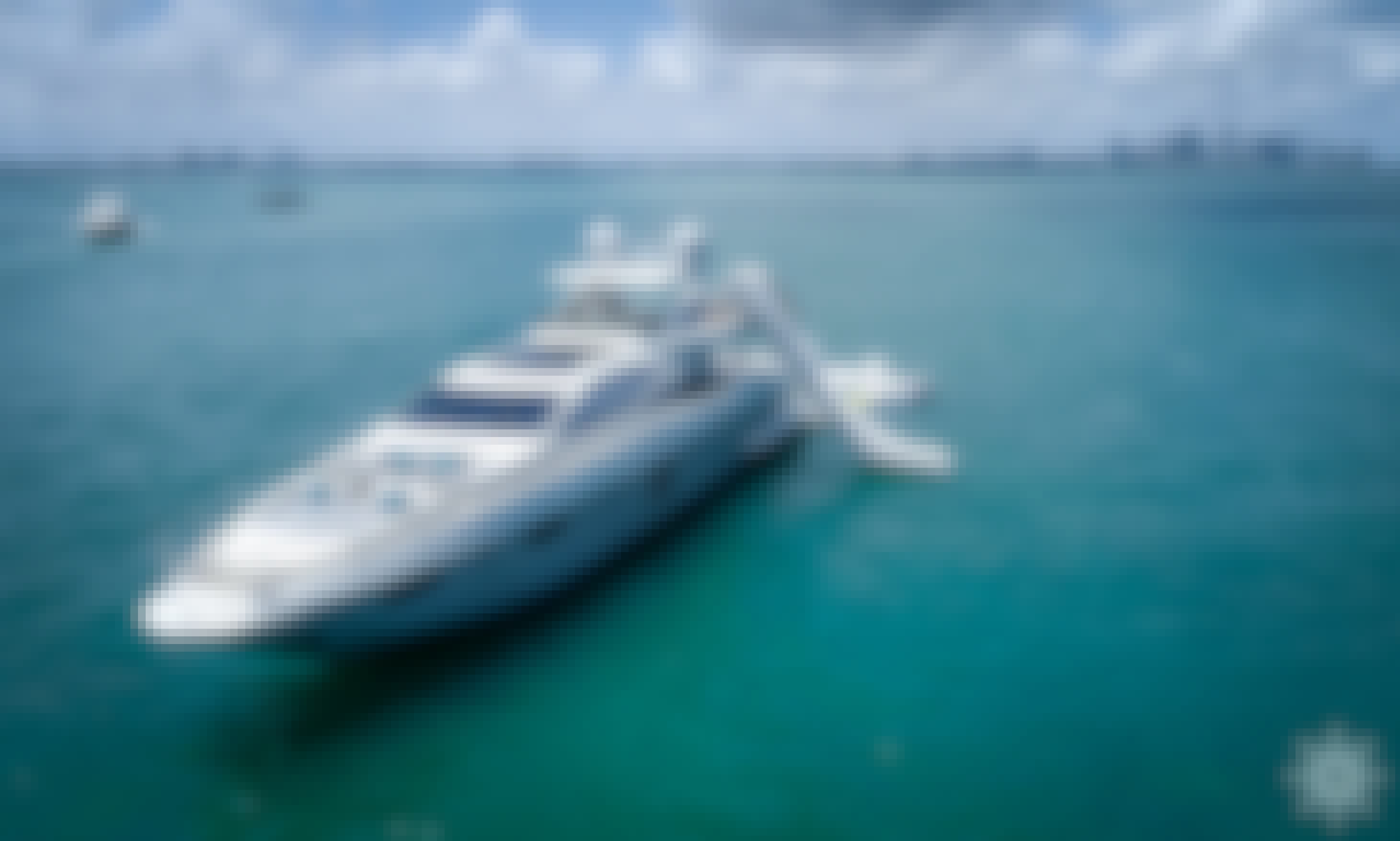 Charter the 103ft Azimut Power Mega Yacht with a Slide in Miami, Florida