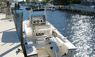 22' Mako Center console for rent in Key Largo, Florida!