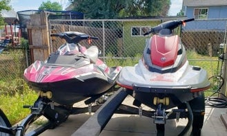 2 Jet Skis for Rent in Greeley Colorado -  Seadoo Spark and Yamaha Waverunner!