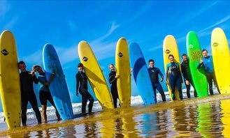 Surf Lesson with Experienced Instructor in Tamraght, Morocco - Avail Discount for October!