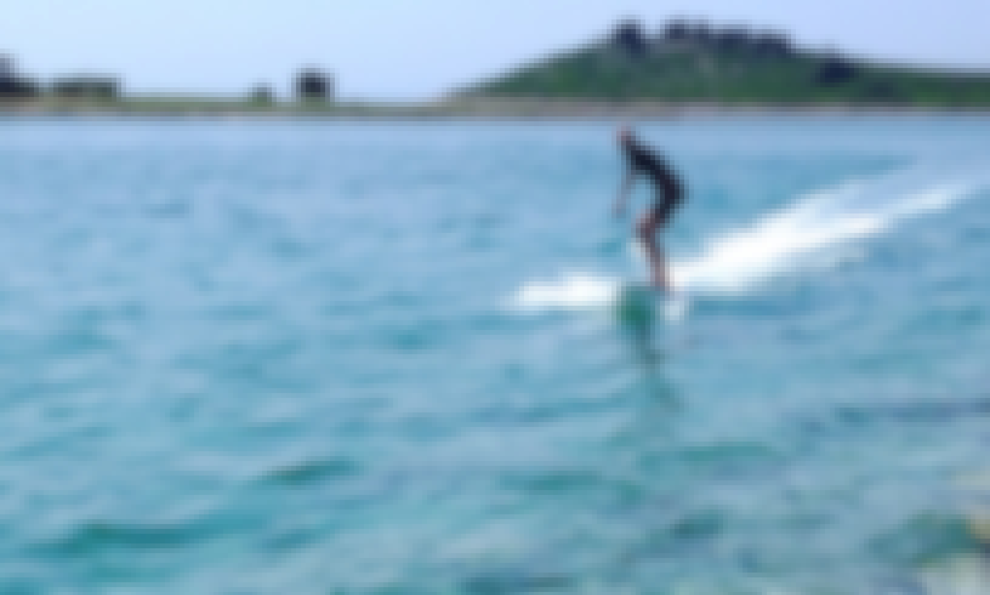 Electric surfboard for rent in Umag, Croatia (SURFER by Poletusa)