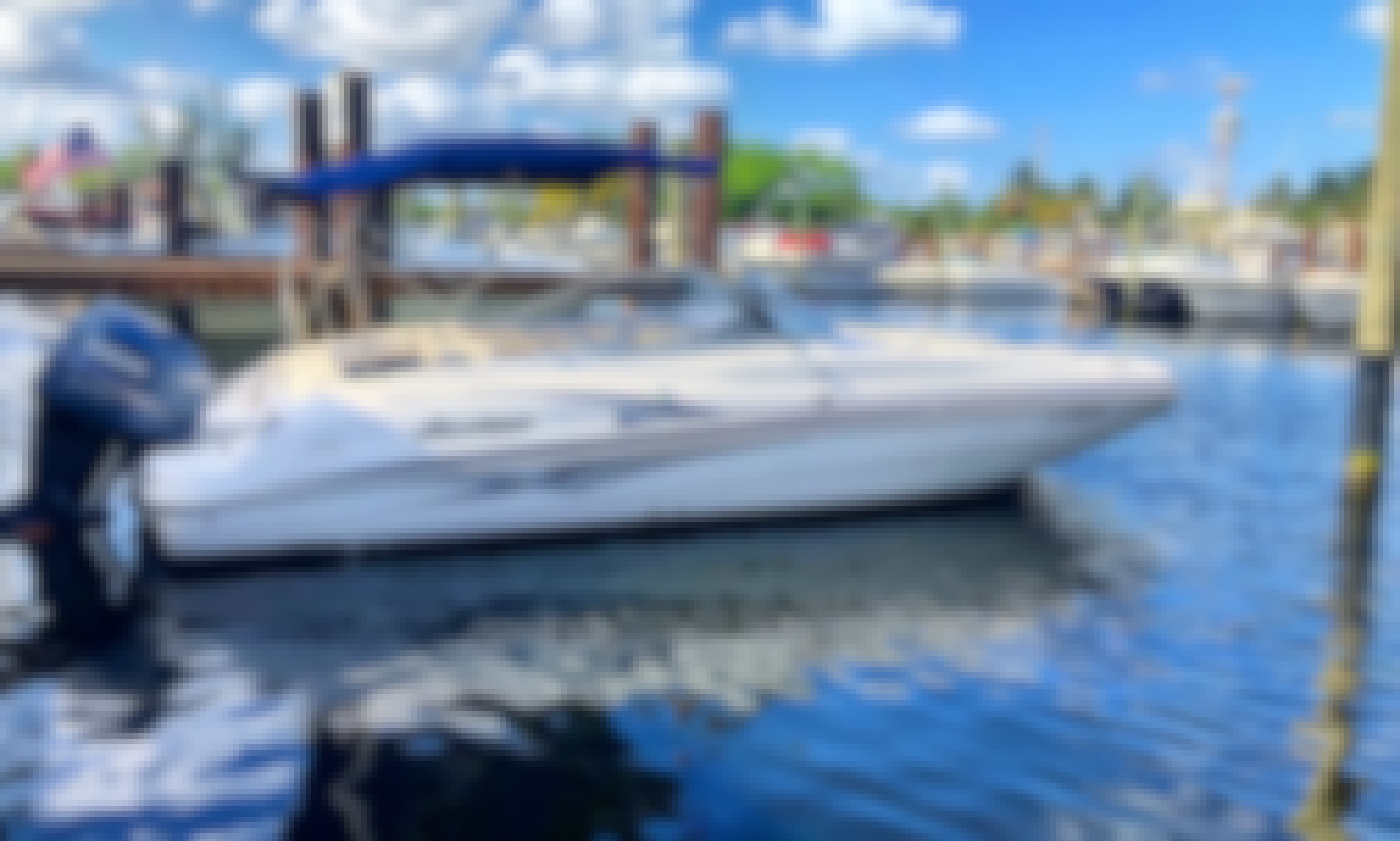 ⭐️ 24' HURRICANE DECK BOAT 225HP - SD237 DUAL CONSOLE MODEL (ANNA MARIA ISLAND) *INSURANCE INCLUDED*