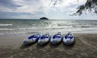 Double Kayak Rental in Krong Preah Sihanouk, Sihanoukville