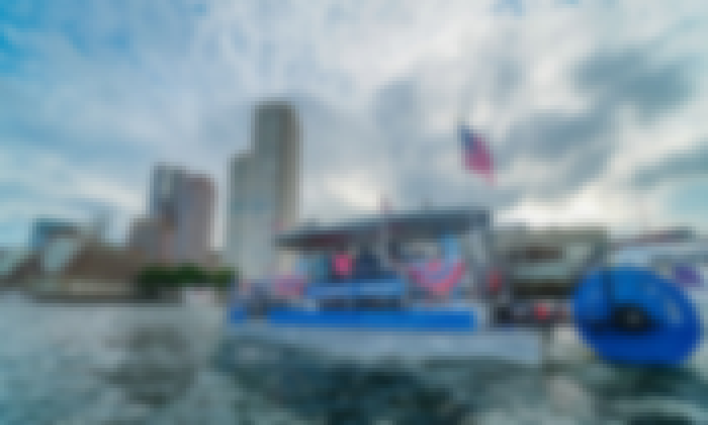 28 ft Cascade Cycleboat Rental for Up to 16 People in Boston, Massachusetts