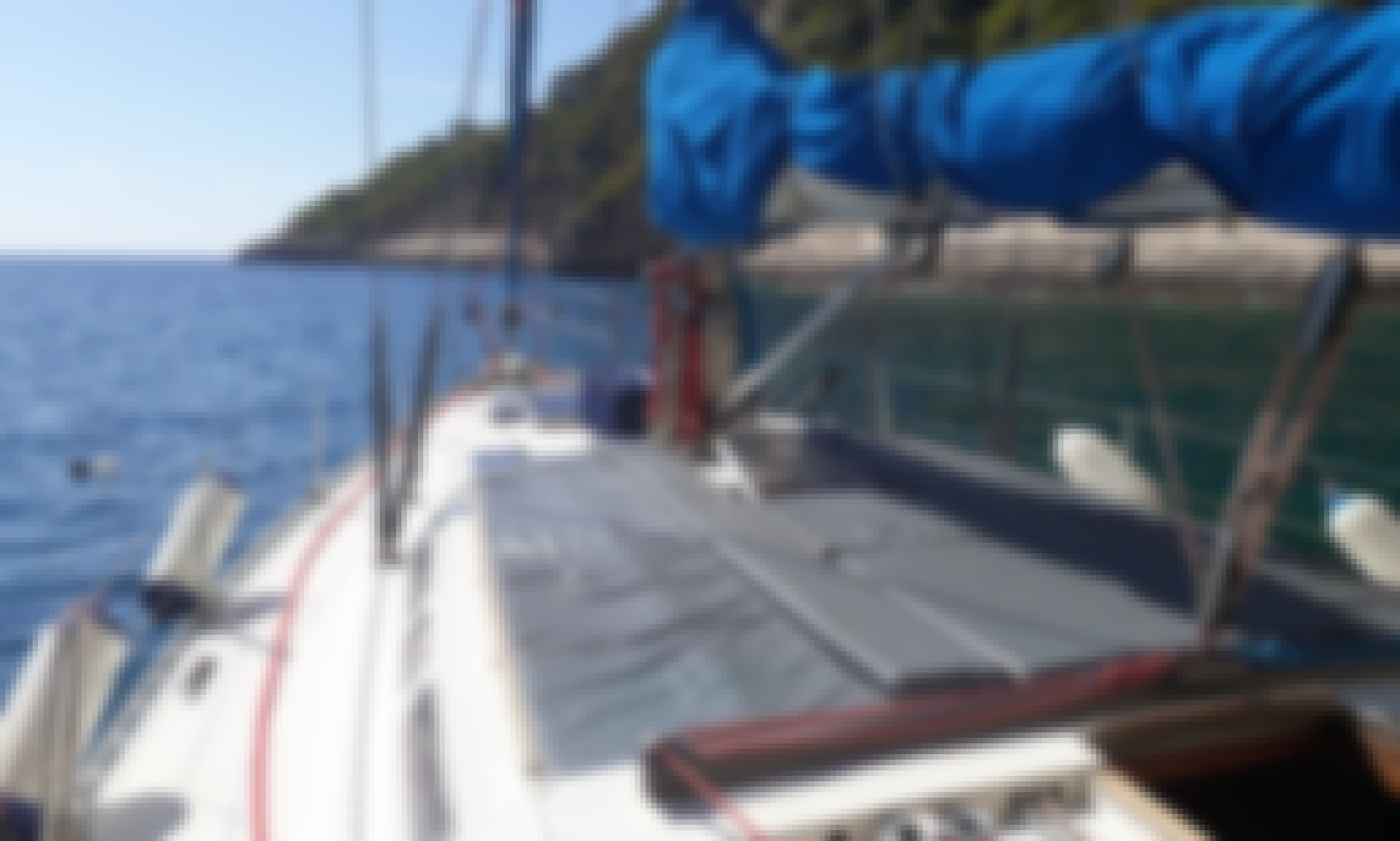 Zakynthos Sailing Trip for 9 People Aboard this Amazing Atlantic 49