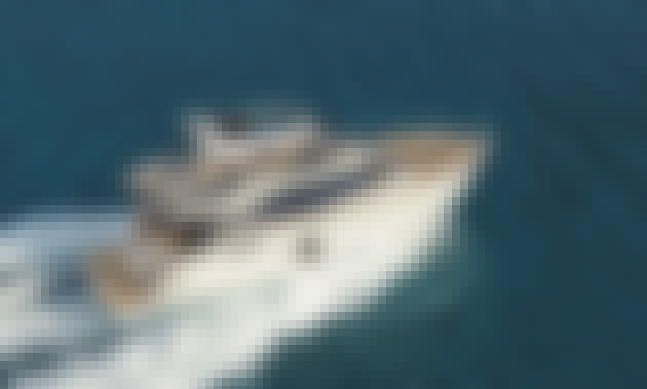 Monte Carlo 6 Fly Motor Yacht Charter in Split, Croatia