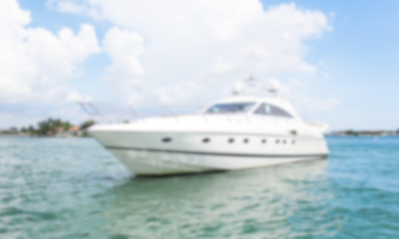 Charter the 65' Princess Power Mega Yacht in Miami Beach, Florida