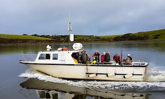 Sea-Fishing Trip in Clew Bay with Skipper Jim onboard 36' Custom Built Angling Boat
