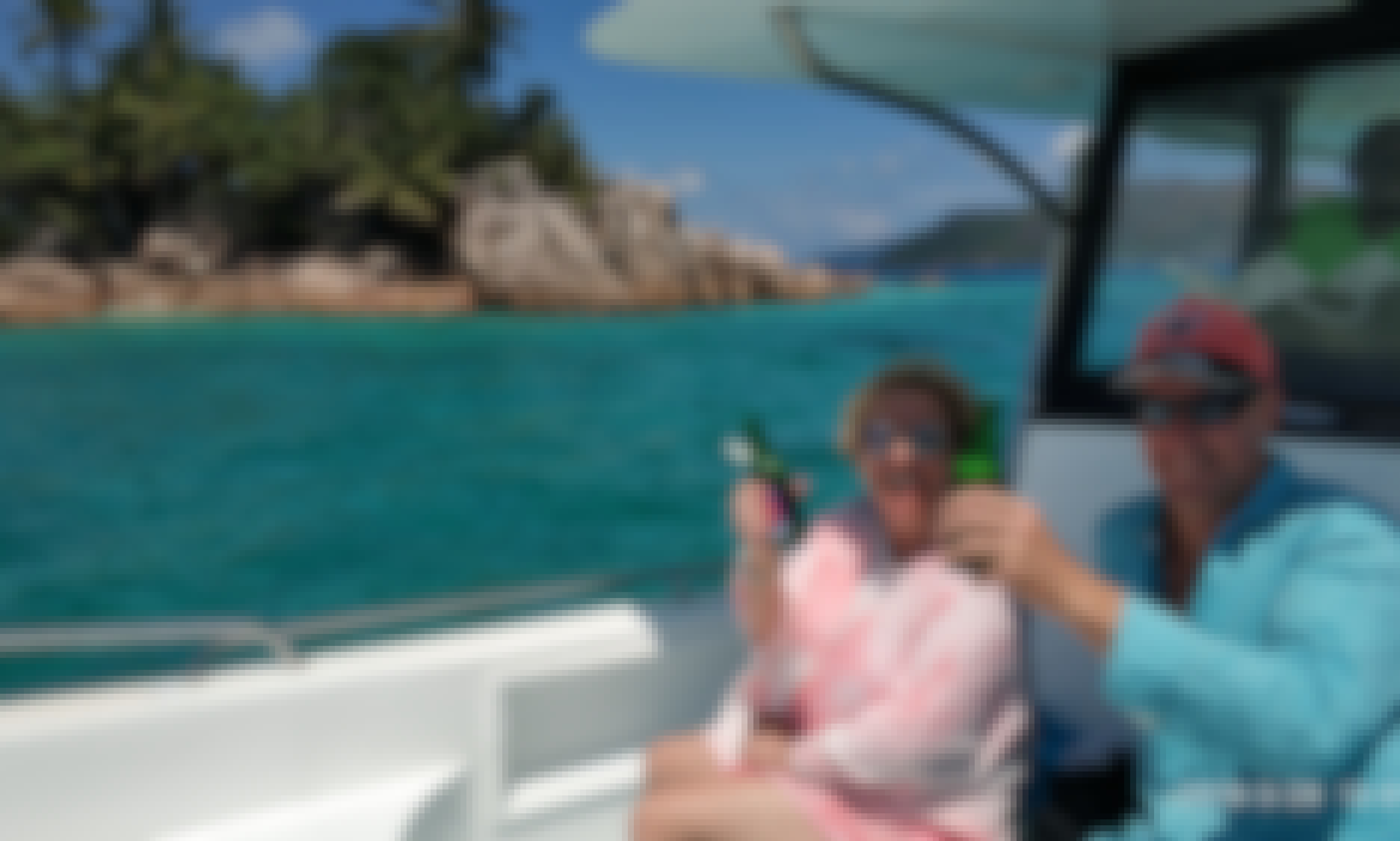 Enjoy a private boat to surrounding island near Praslin