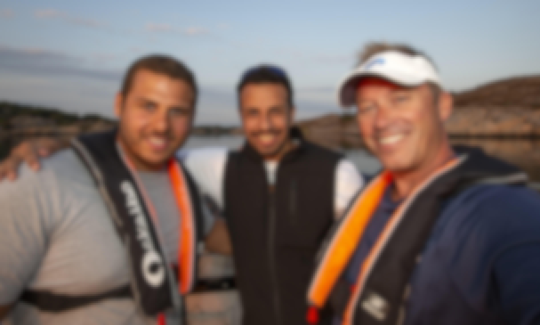 Sea Trout fishing with Ockelbo B18CC near Gothenburg