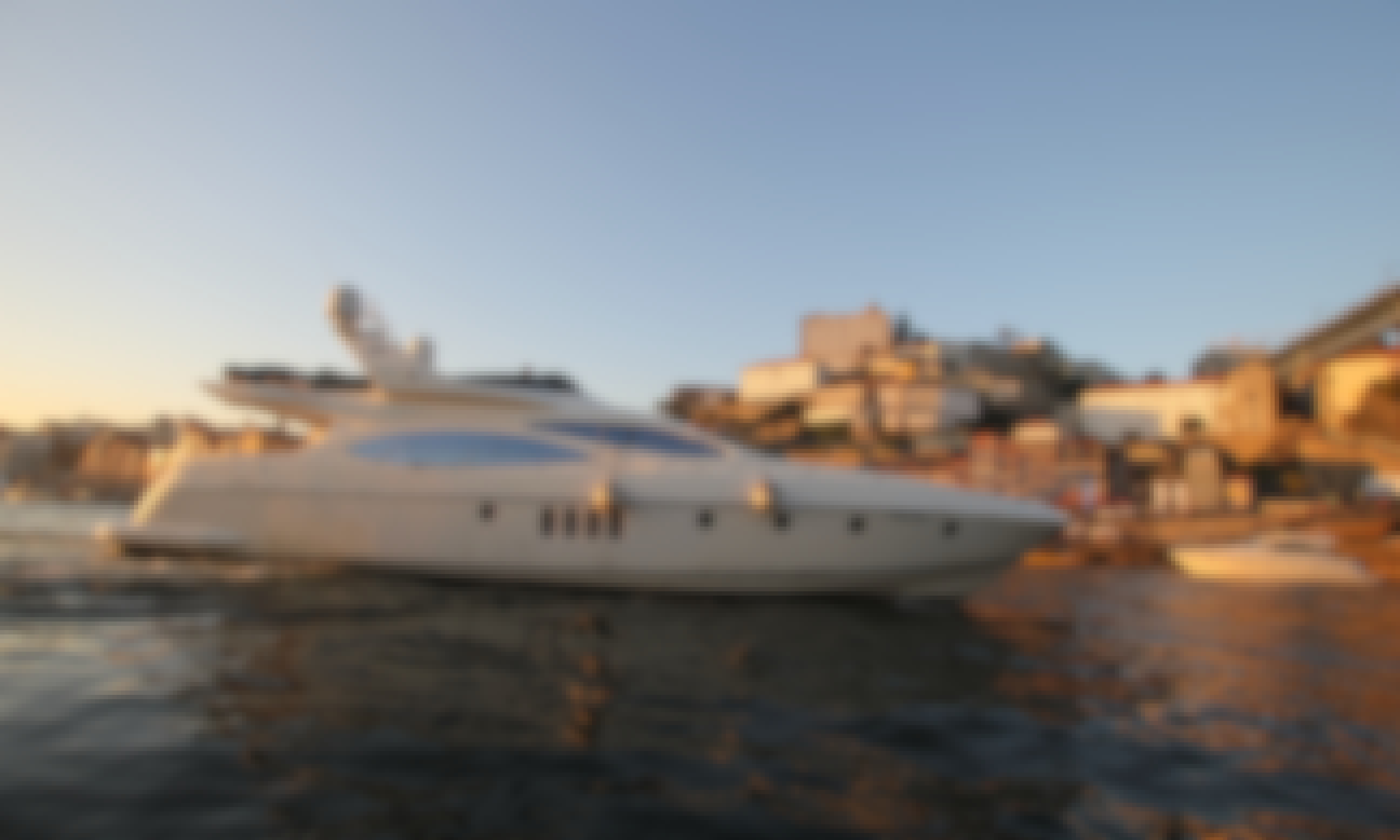 Azimut 68 Plus Motor Yacht Charter for 10 Person in Porto, Portugal!
