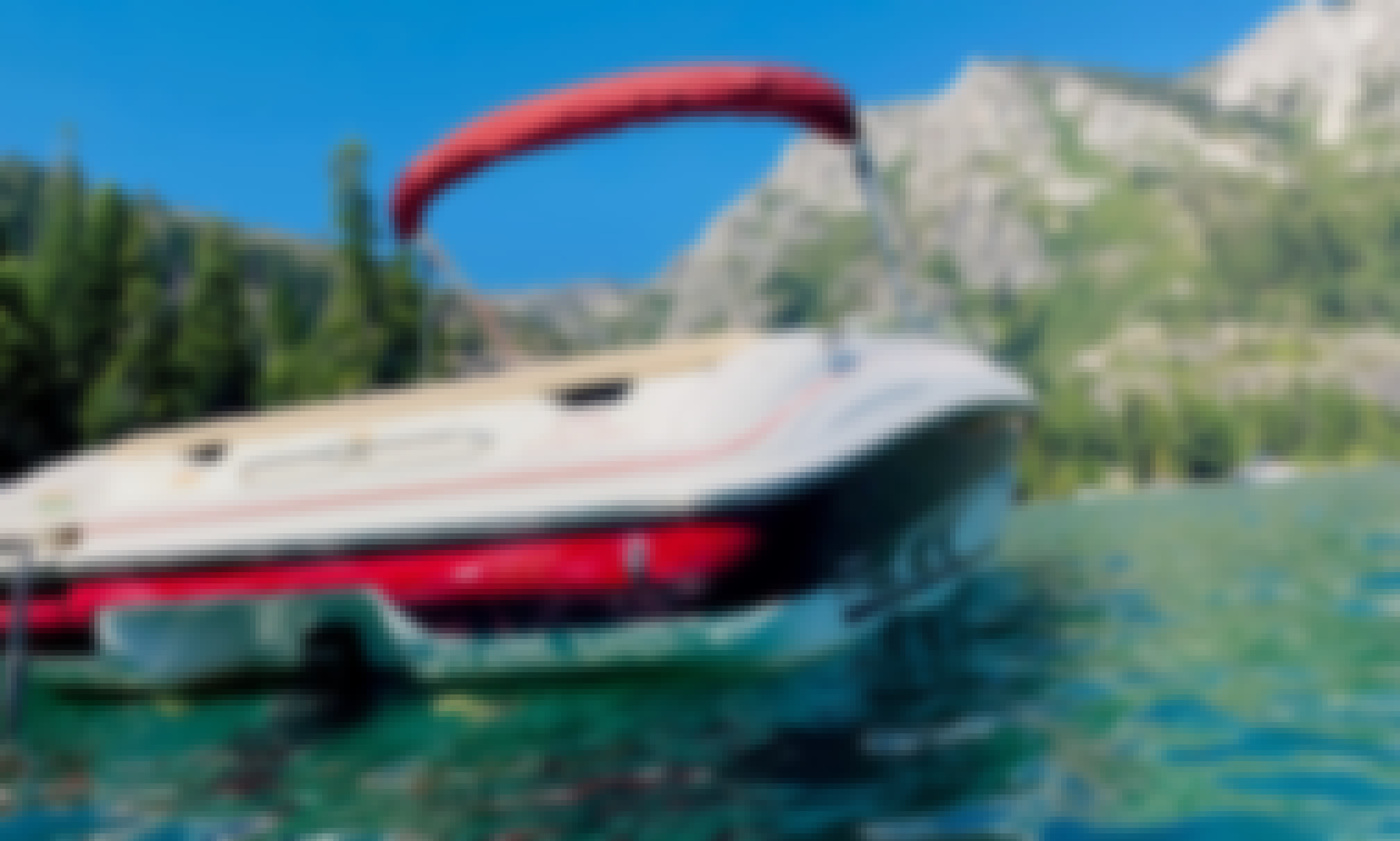 Rent the SeaRay 210 Bowrider for Lake Tahoe Fun in the Sun!