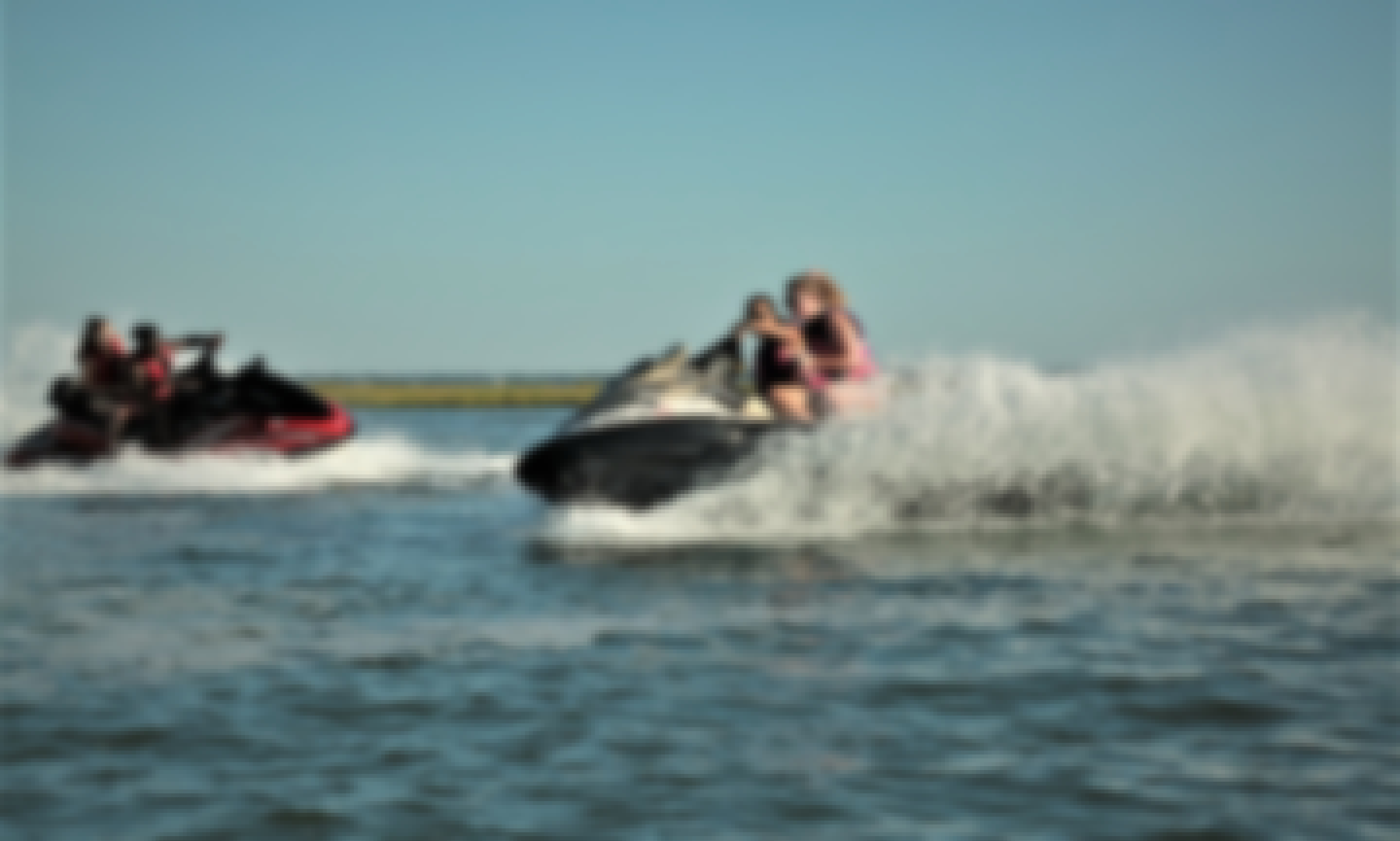 🌊Double Jet Ski Rental🐟Twice the fun!!⚓A party on the water☀🌞☀