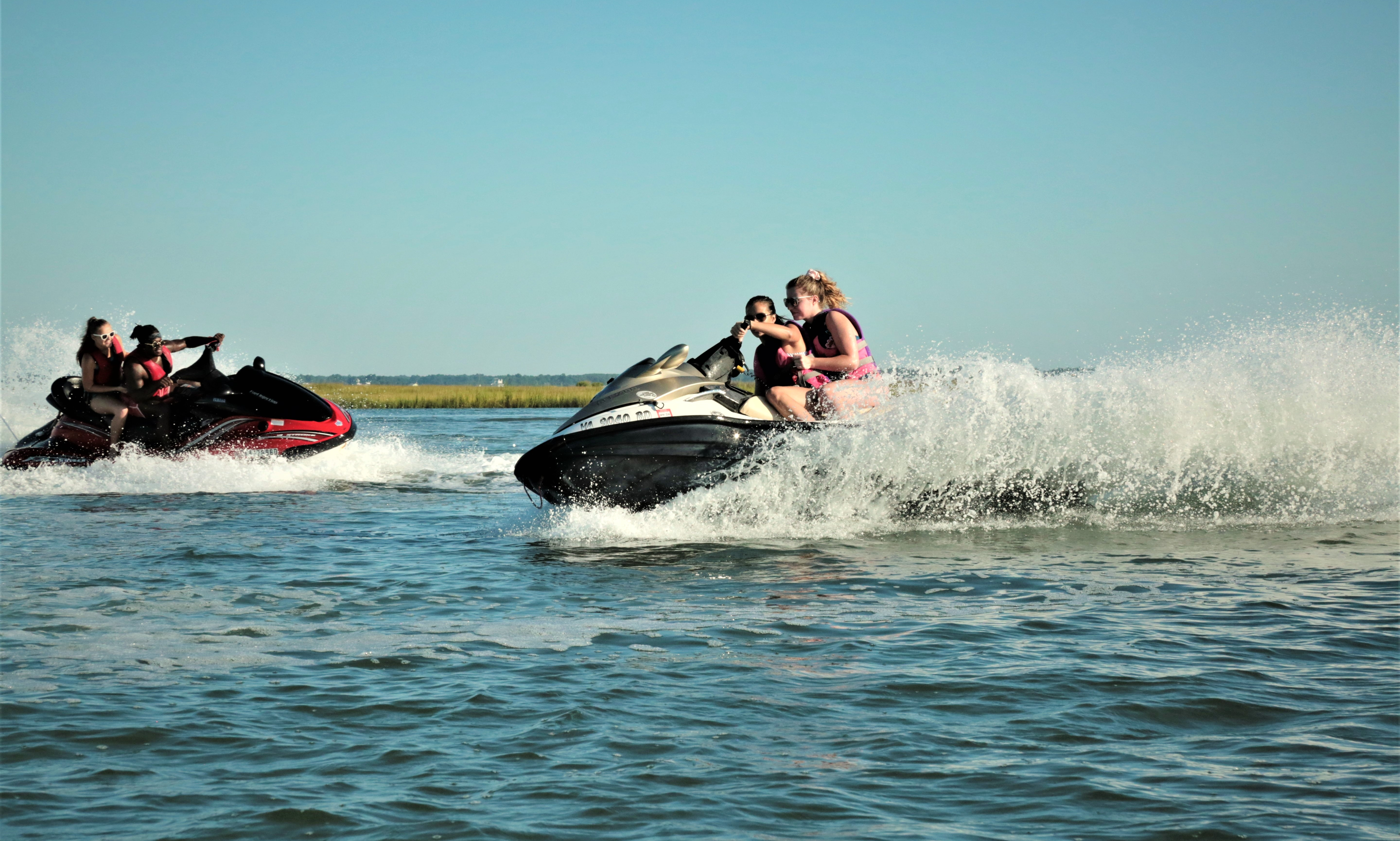 Double Jet Ski Rental Twice The Fun A Party On The Water Getmyboat