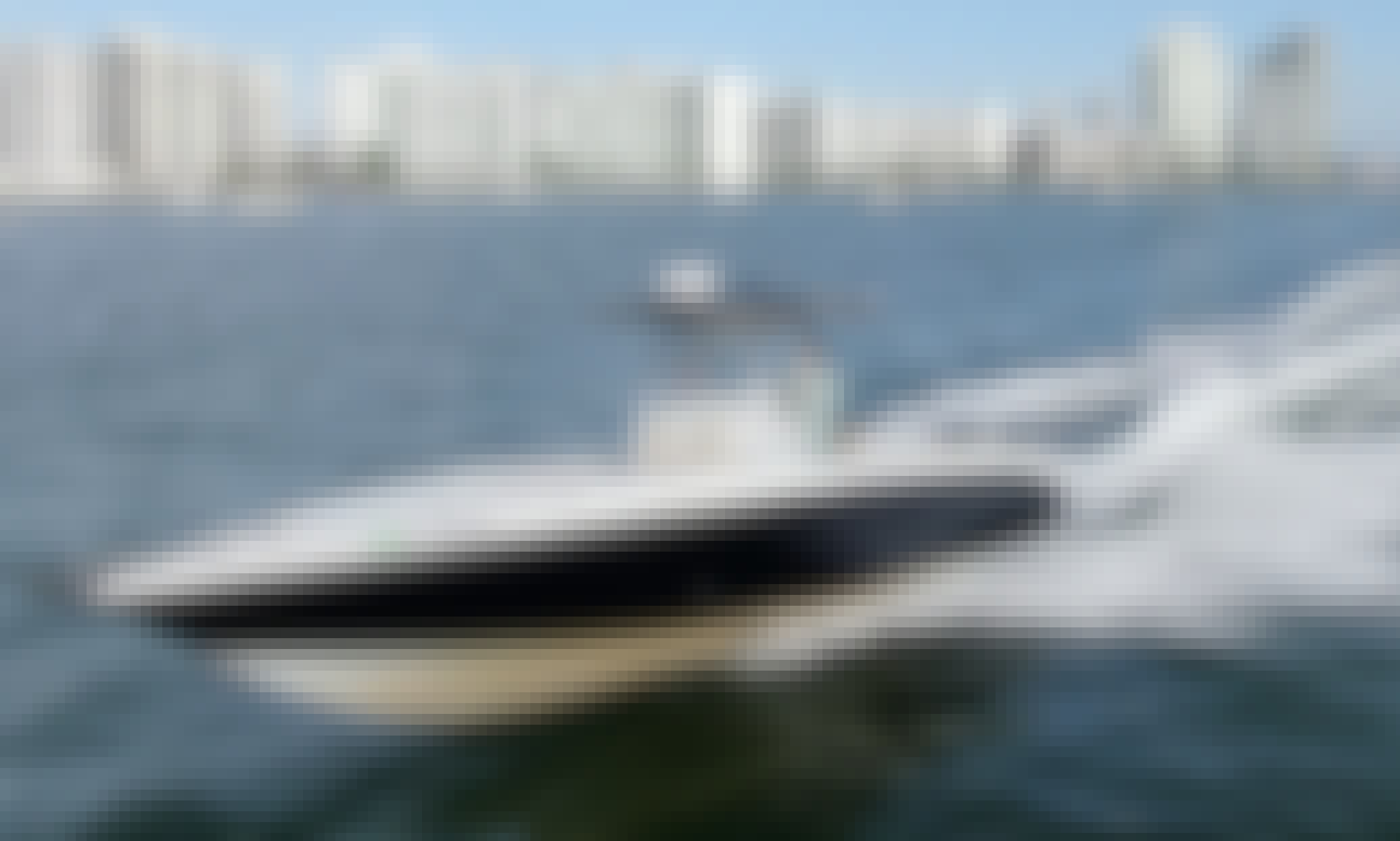34 Foot Center Console Rental In South Beach, Florida