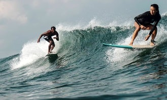Surfing Lesson with Talented and Super Friendly Instructor in Kecamatan Kediri, Bali