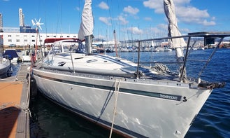 Private Sailing Trips in Canary Islands with Captain Dennis onboard First 45F5 Sailing Yacht