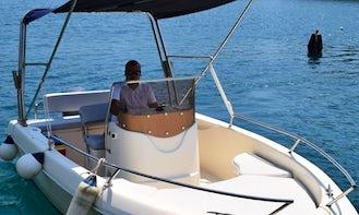 Speedboat Sessa Key Largo 17 Powerboat in Zaton, Croatia!