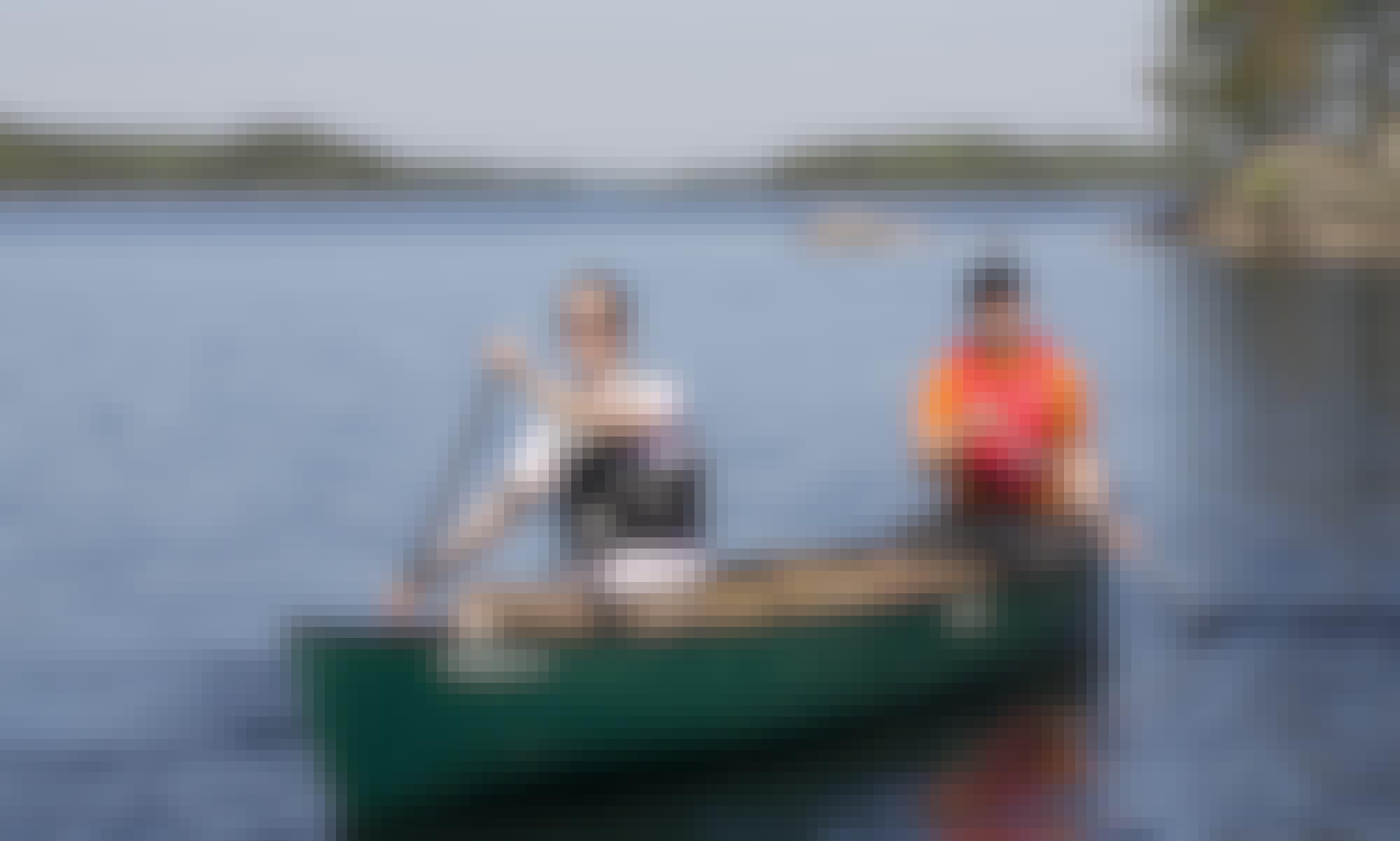 Double Canoe for Rent in Savonlinna, Finland