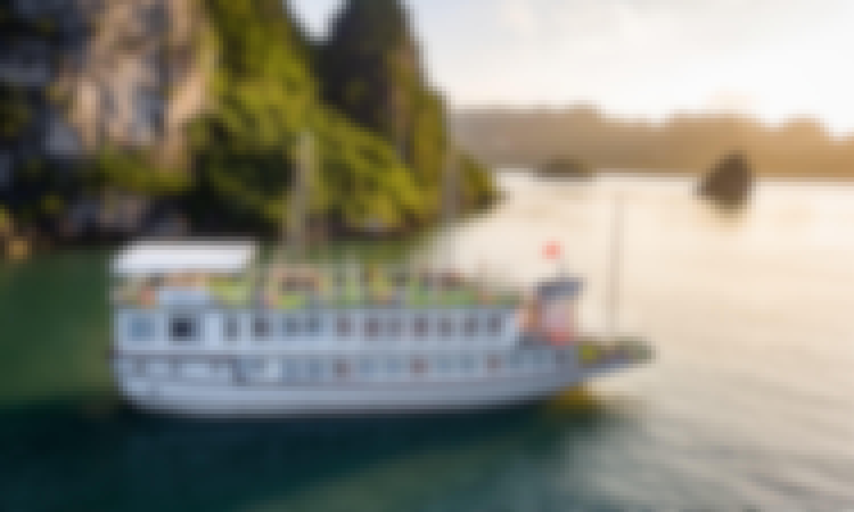 Lavender Elegance Cruises   2- Day Kayak - Caves - Taichi - Seaview from Hanoi!