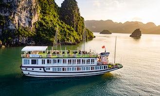 Lavender Elegance Cruises | 2- Day Kayak - Caves - Taichi - Seaview from Hanoi!