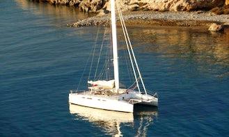38' Katri Hybrid Eco Sailing Catamaran Saronics, Athens, Greece