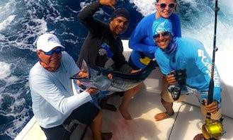 43' Hatteras Motor Yacht Fishing Charter in San Pedro, Corozal