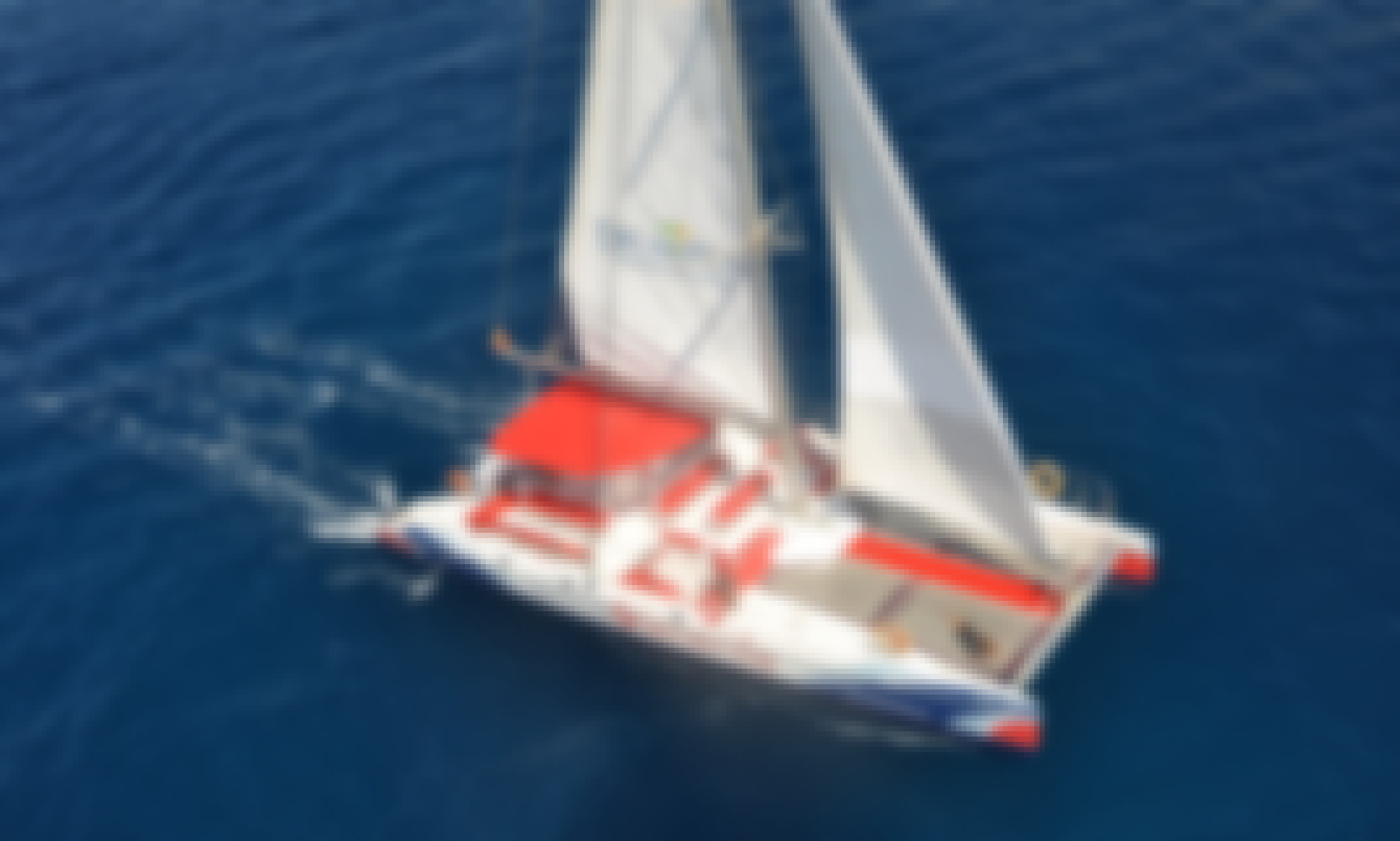 Private Fountaine Pajot Tahiti Catamaran Rental in Costa Adeje