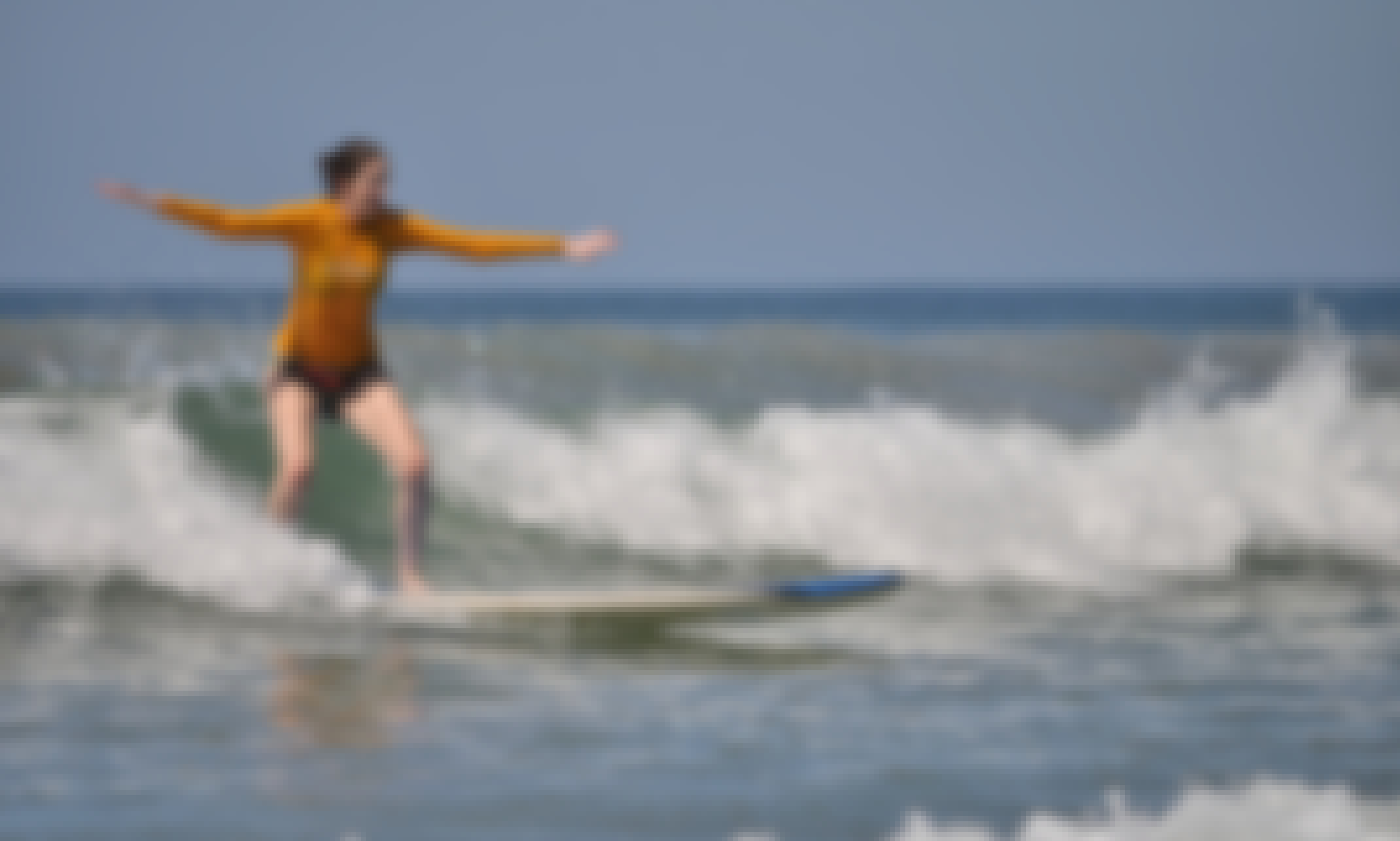 Surf Lessons in Playa Grande, Provincia de Guanacaste - Uncrowded beach. Room to move. Focus on learning, not obstacles!