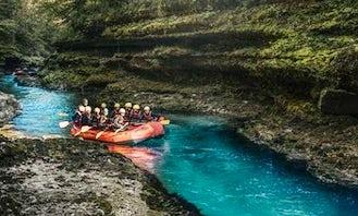 Rafting Trip on the Salza in Palfau, Austria!