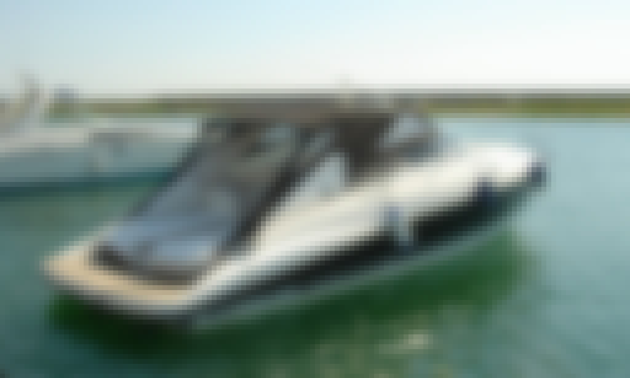 Charter this 8 person Sunseeker Motor Yacht in Varna, Bulgaria!