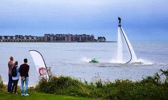 20-Minutes Flyboarding Ride in Heerhugowaard, Noord-Holland!