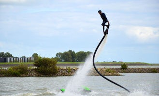 Take the Challenge! Dare a 20 Minute Hoverboarding Flight in Heerhugowaard, Netherlands