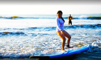 Surfing Lessons with Highly Professional Coaches in Kecamatan Kuta Selatan, Bali