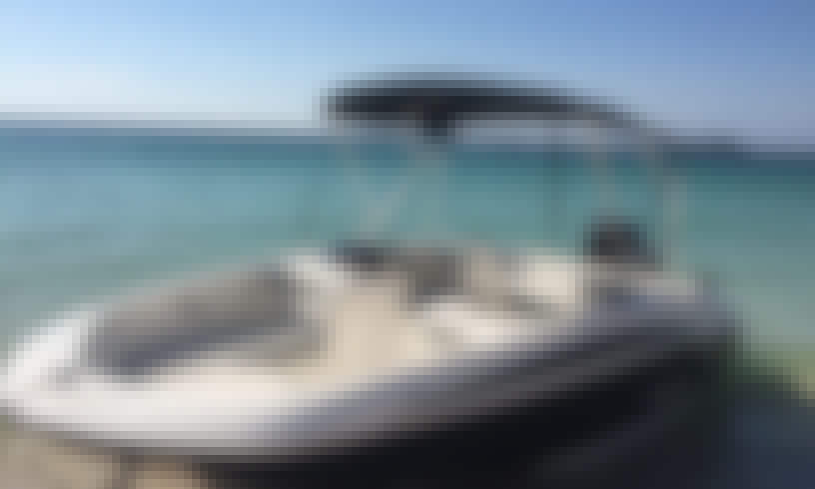 16' Bayliner Element Deck Boat for 6 Person in Sunny Isles Beach, Florida!