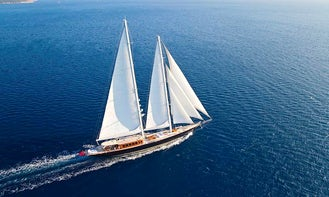 """Explore Turkey on 183ft """"Regina"""" Gulet with your Family!"""
