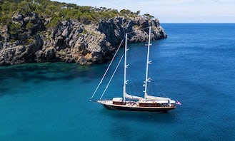 """Book the 136ft """"Satori"""" Gulet in Turkey for 10 person!"""