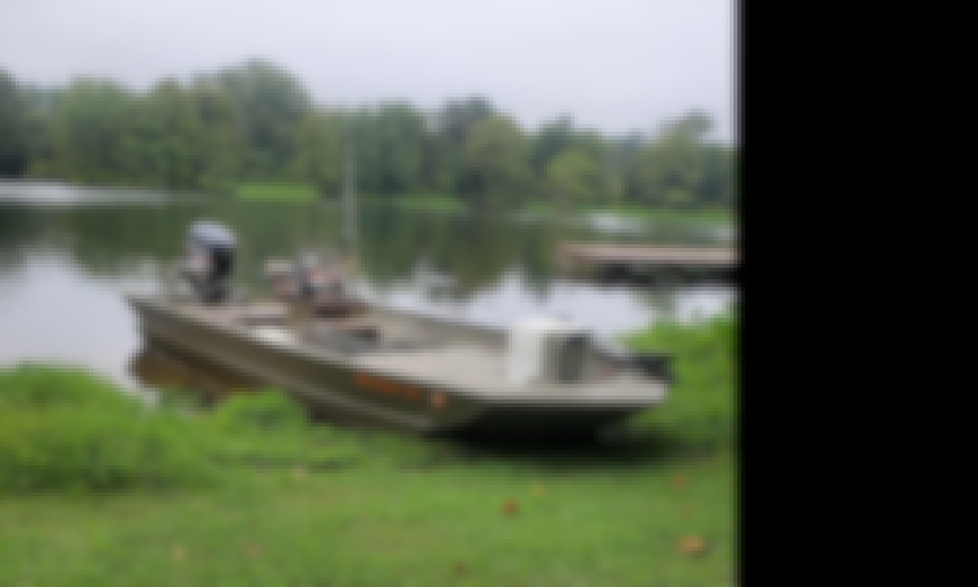 20ft Center Console Aluminium Welded boat in Jacksonville, Georgia