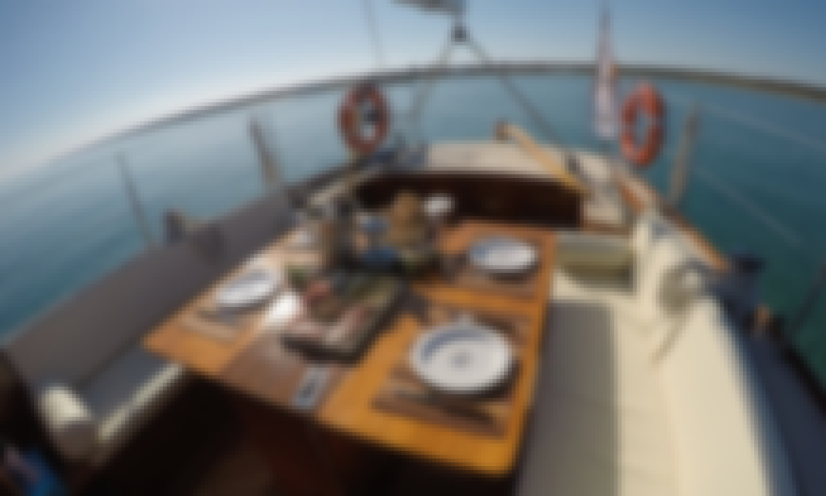 Classic Wooden Sailboat Private Tour in Limassol, Cyprus!