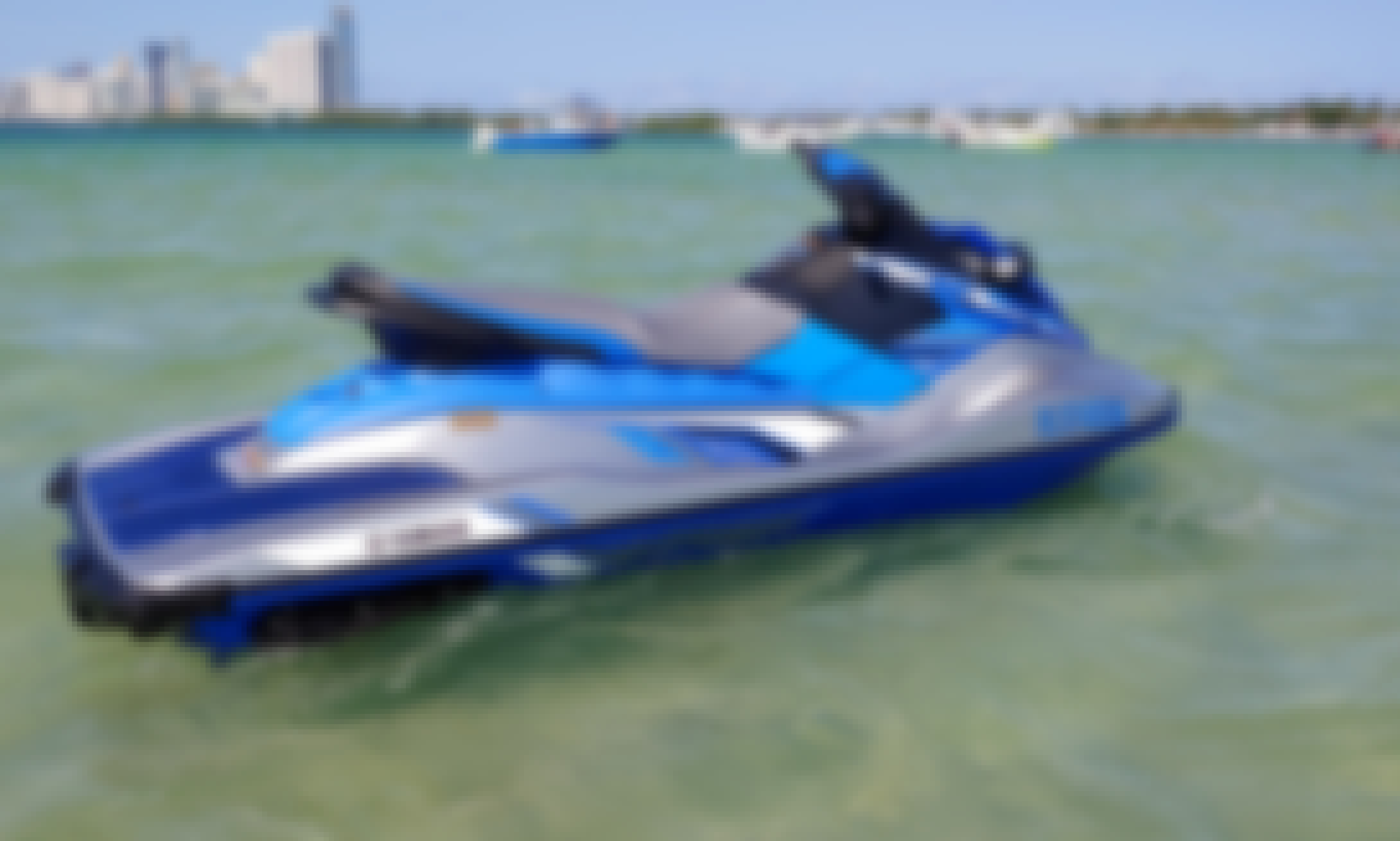 Lets Rent A Jet Ski! Best fun in Hallandale Beach! Brand new 2020 Yamaha EX Deluxe for 2 people!