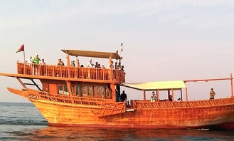 Book the Traditional Dhow Boat in Muscat, Oman