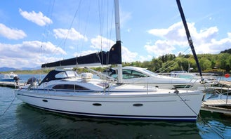 40' Bavaria Vision Yacht Skippered Charter in Oban, Scotland
