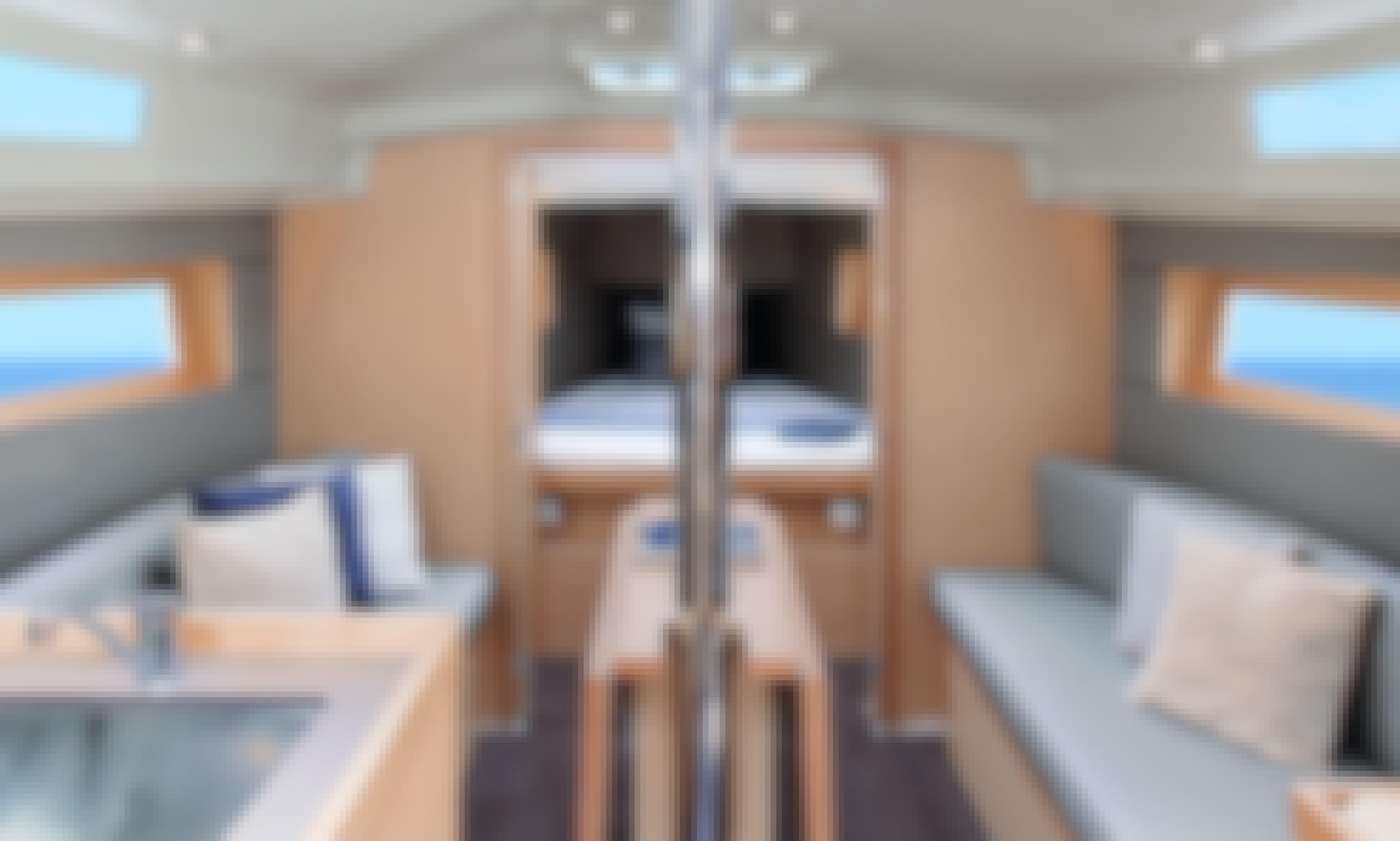 Enjoy the brand new Beneteau Oceanis 30.1 (2020) Sailboat in Barcelona, Spain!