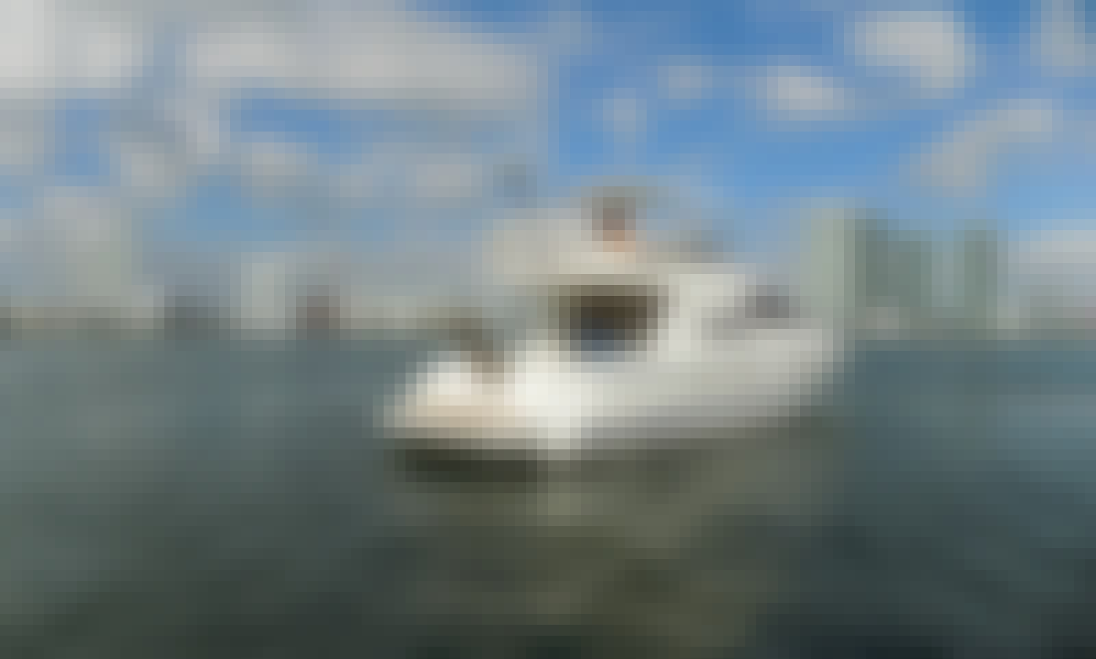 Captained Charter on 50' Cranchi Motor Yacht for 12 People in Miami, Florida!