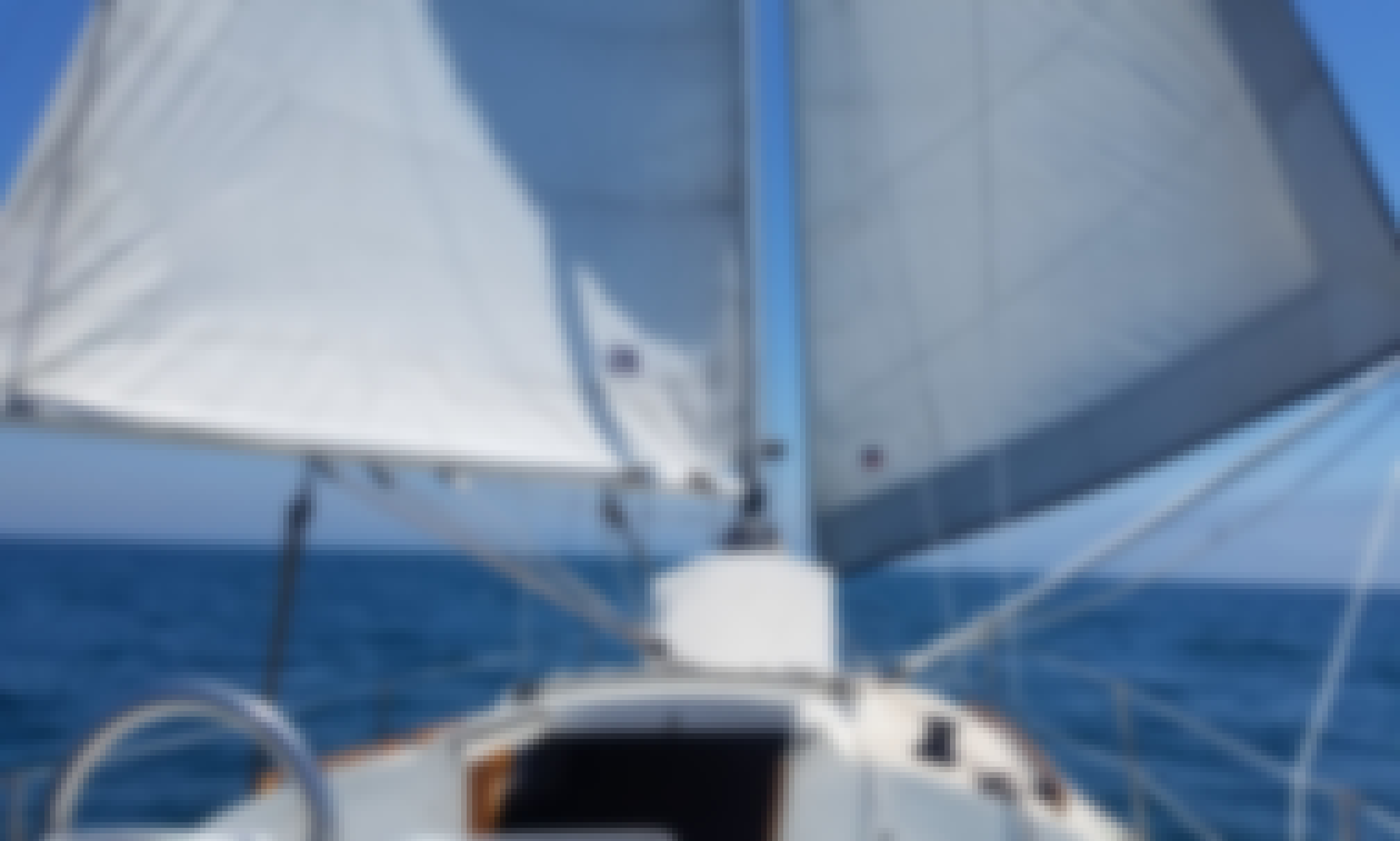 Private Sailing Charter with Captain for up to 6 people - 33' Newport Sailboat!