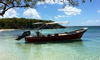 Private Charter on Calm West Coast of Antigua