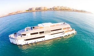 One of the Biggest Events Boat - Megayacht Desert Rose in Dubai!