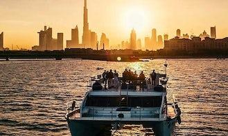 Catamaran Cruise to the Palm Island, Atlantis hotel, Burj Al Arab and more in Dubai!